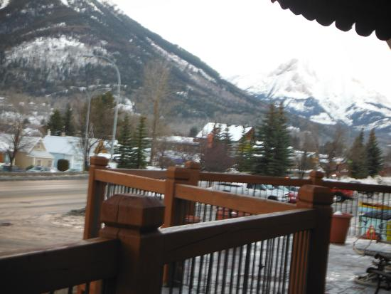 Powder Mountain Lodge: View from our room