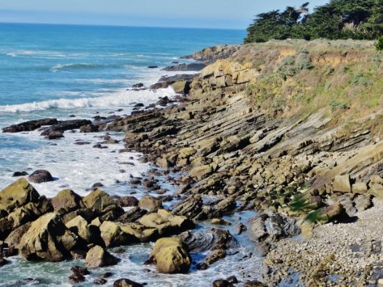 Bones Roadhouse: Coastal view