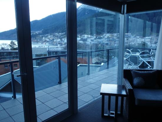 Blue Peaks Apartments: View from the lounge area