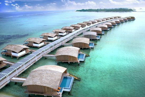 Atol de Malé do Norte: Overwater Villas