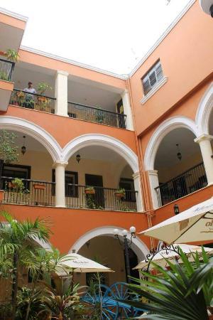 Mision Campeche : Patio