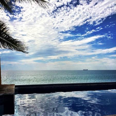 Hotelito Manzanillo Inn : vista desde la zona de alberca