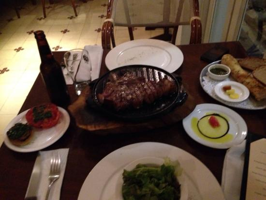 Doris Metropolitan : A delicious T bone steak