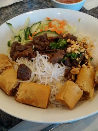 Pho Hoan Pasteur Fusion Noodle House : 3 Colour Vermicelli