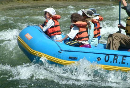 Beavercreek, OR: Family raft trip