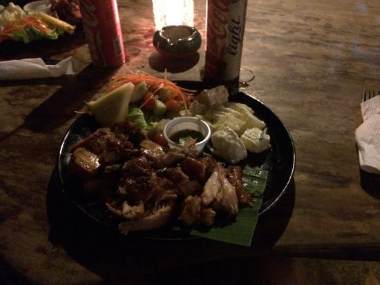 Siam House: BBQ!