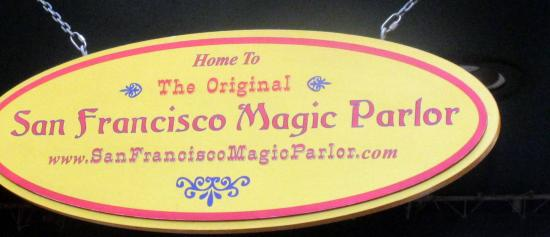 San Francisco Magic Parlor, Chancellor Hotel, San Francisco, CA