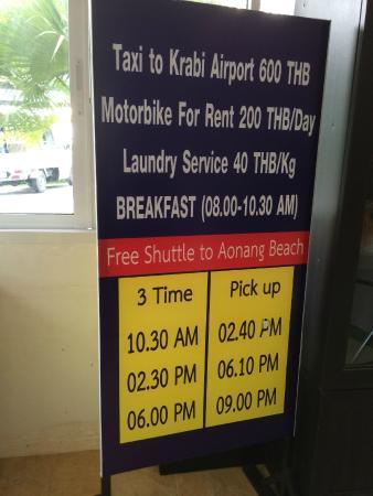 Supsangdao Resort : Shuttle bus