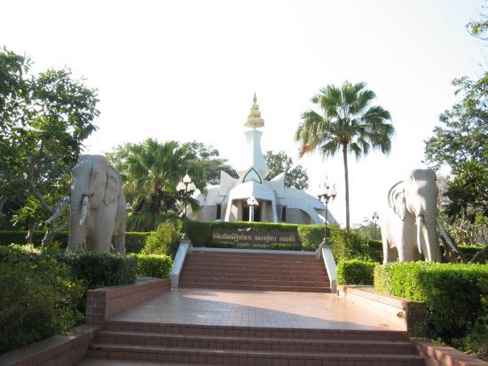 Nong Bua Lamphu, Thái Lan: Aufgang zum Wat
