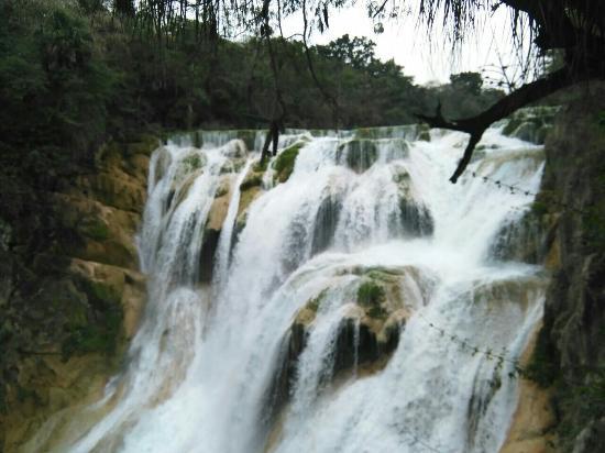 San Luis Potosi, Meksika: Cascada El Meco en El Naranjo, San Luís Potosí