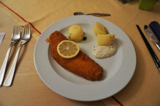 Rappen: 私が食べた魚のフライです。