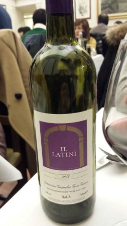 Restaurante Il Latini: Yummy house wine