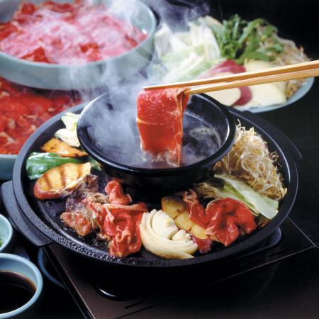 Gion Gyuzen: 焼きしゃぶ