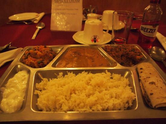 Bissau Palace: 夕食