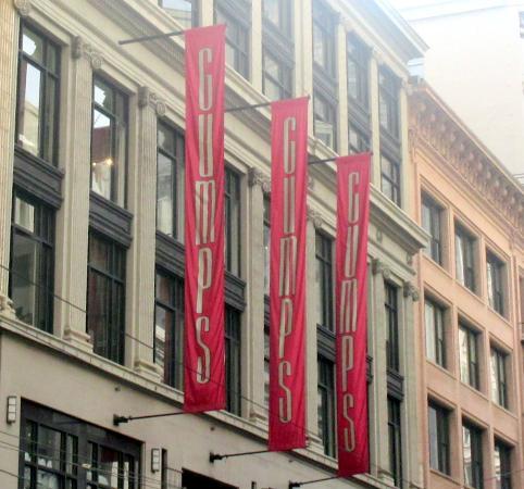 Gump's: Gumps, San Francisco, Ca