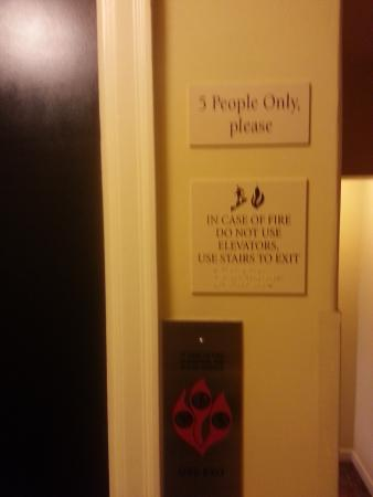 Ashland Springs Hotel : Only complaint: Waiting for 3 more folks to come along so we could use the elevator (joke!)