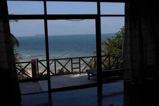 Rantee Cliff Beach Resort: Vista dalla camera