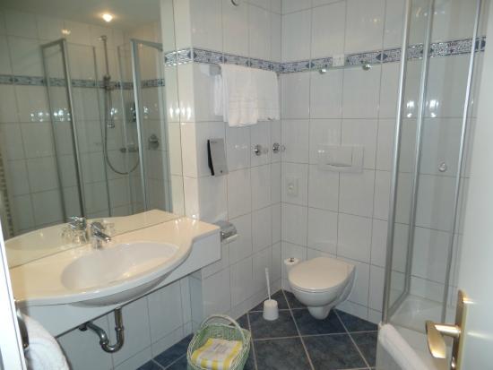 SENTIDO Zugspitze Berghotel Hammersbach: The bathroom