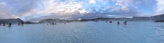 Radisson Blu 1919 Hotel, Reykjavik: Blue Lagoon was heaven on earth