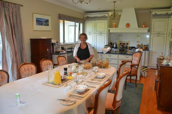 Annerleigh Bed and Breakfast: Great breakfast