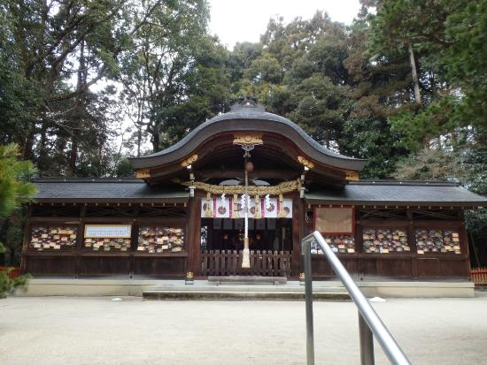 Sagimori Jinja Shrine: 拝殿