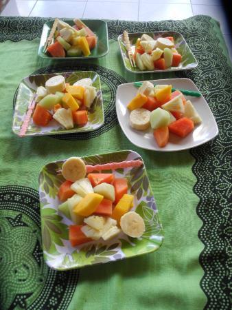 Warsi's House: Frukost