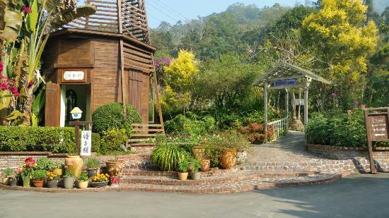 Xinshe, Taichung: Garden view