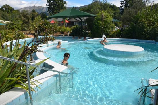 Hanmer Springs Thermal Pools & Spa: Aquatherapie mogelijk