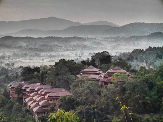 Phu Chaisai Mountain Resort & Spa: วิวหน้าห้อง
