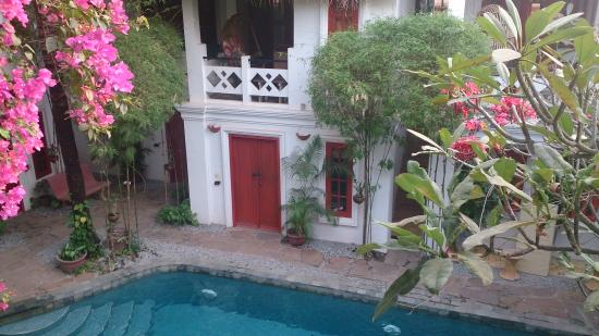 Rambutan Hotel Siem Reap View From Balconu