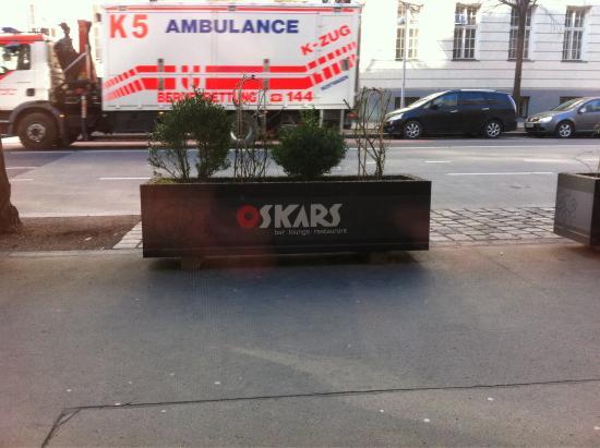 Restaurant Oskars : Look from window
