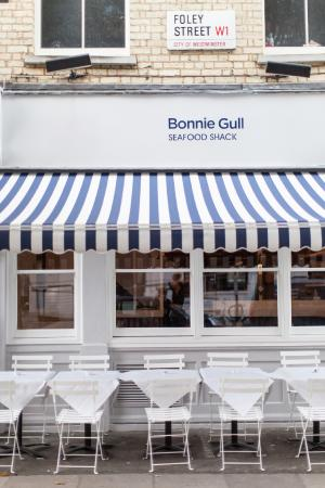 Photo of Seafood Restaurant Bonnie Gull Seafood Shack at 21a Foley Street, London W1W 6DS, United Kingdom