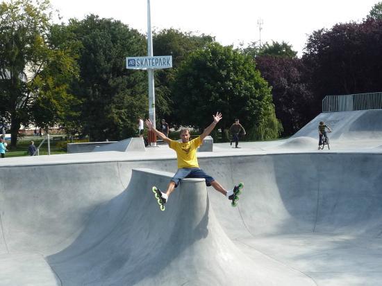 probably best skatepark in northern poland review of skate park