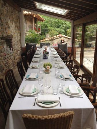 Mesa En Terraza Exterior Picture Of El Molin De Mingo Cangas De Onis Tripadvisor
