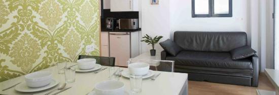 Valenciaflats Mercado Central: Apartamento con cocina equipada