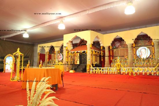 Kottayam, India: bhagavathamritha sathram 2014 at malliyoor