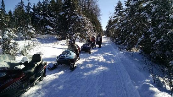 NEK Adventures ATV & Snowmobile Tours: Break time