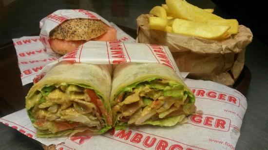 Sleek Burger Cafe & Bakery