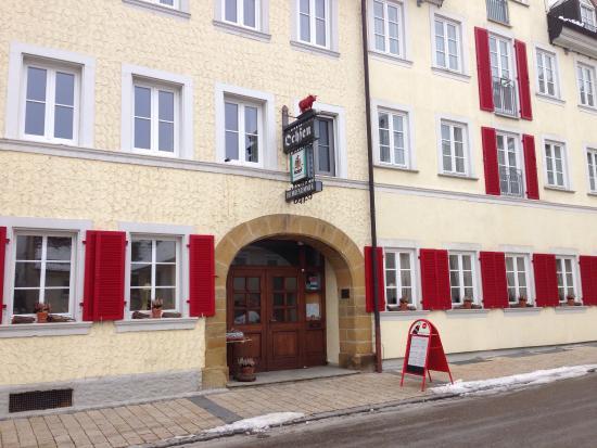 Lauchheim, Alemanha: Eingang