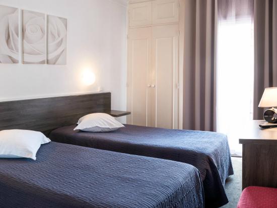 Hotel Le Chardon Bleu : chambre supérieure twen sur demande