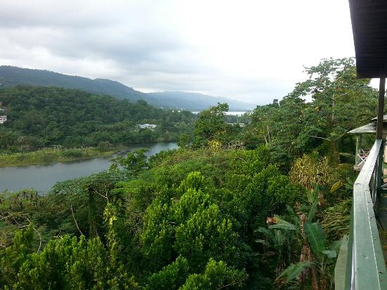 Rio Vista Resort: View  from breakfast  balcony