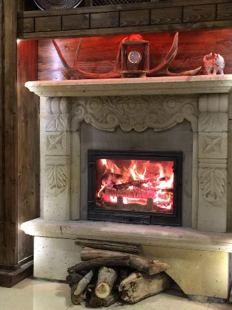 Stone Concept Hotel: fireplace