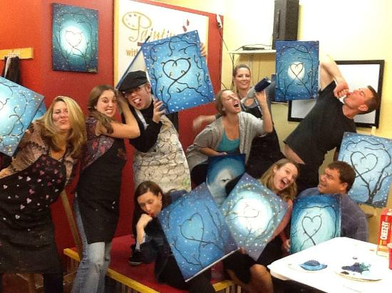 Painting With a Twist : Crazy Crew!