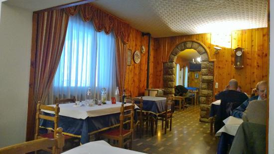 Hotel Napoleon : Saletta da PRANZO