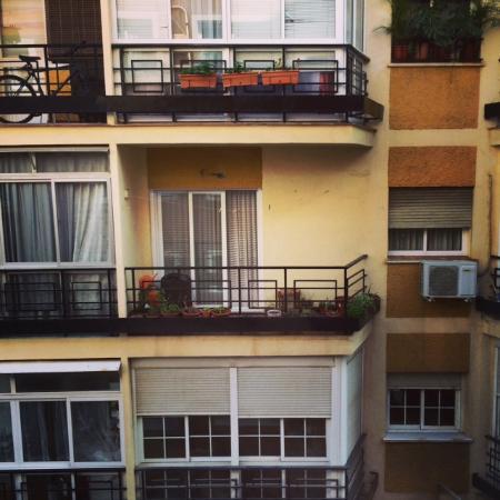 Hotel Zenit Malaga : Uitzicht