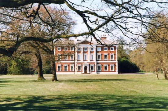 Lytham St Anne's, UK: Lytham Hall from the East lawn