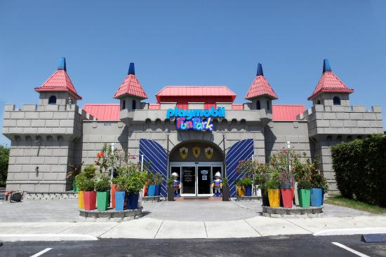 Palm Beach Gardens, Flórida: PLAYMOBIL FunPark Entrance