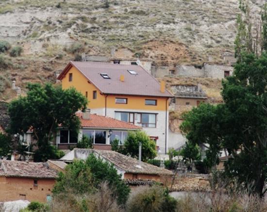 Valdecañas de Cerrato, España: Vista de la Cuesta del Acedo