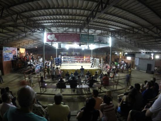 Muay Thai at Klong Dao Stadium: Muay Thai Staduim.