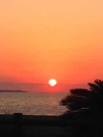 Nago Bay: 名護湾の夕日